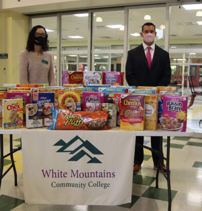 WMCC partners with Granite United Way for Smart Start Cereal Drive
