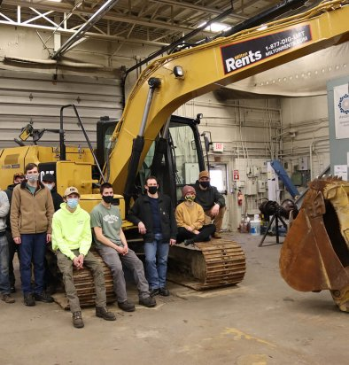 WMCC students are digging learning their trade on heavy equipment