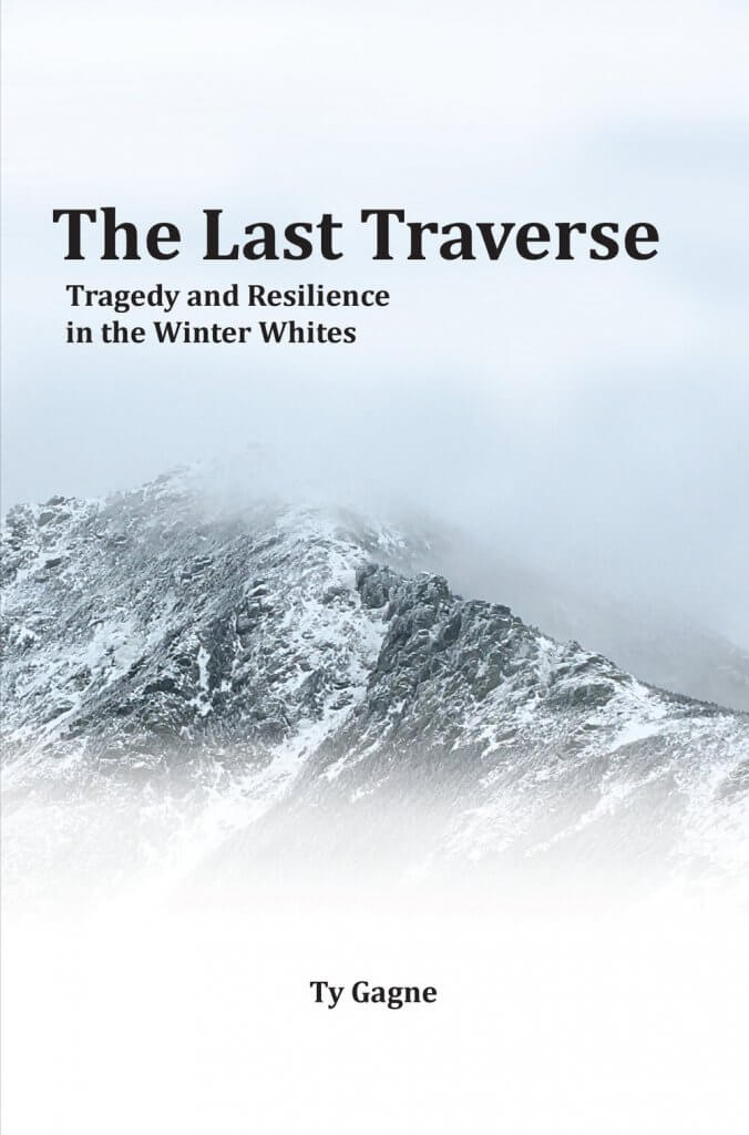 The Last Traverse Book Cover featuring Franconia Ridge, NH