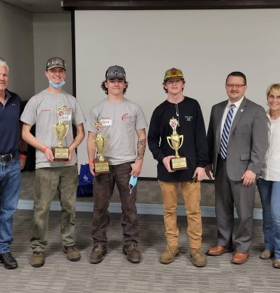 Welding contest aims to show students paths forward